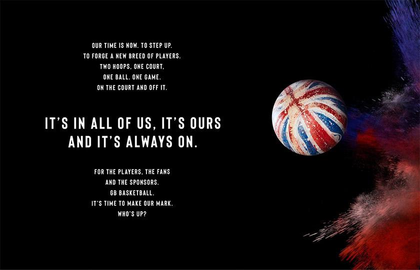 英国国家男子篮球队(GB)LOGO