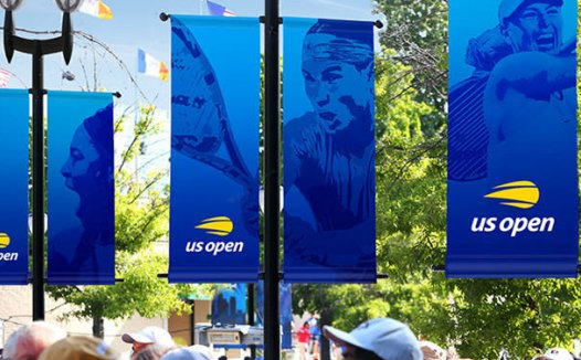美国网球公开赛品牌升级 新LOGO设计简洁现代
