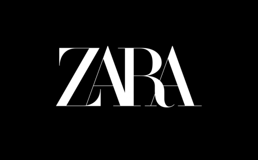 知名服装品牌ZARA升级LOGO设计,风格不走寻常路!