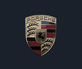 保时捷车标含义及标志LOGO演变设计理念