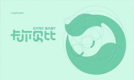 CARE BABY卡尔贝比母婴店品牌LOGO设计